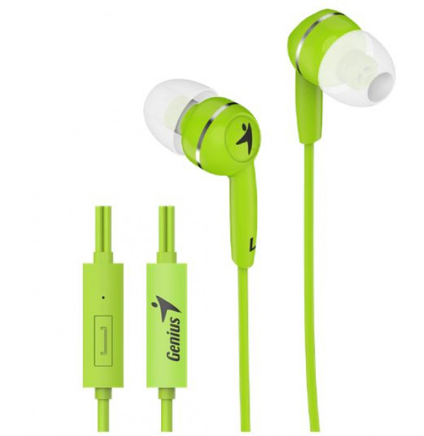Genius slušalice sa mikrofonom HS-M320 zelene