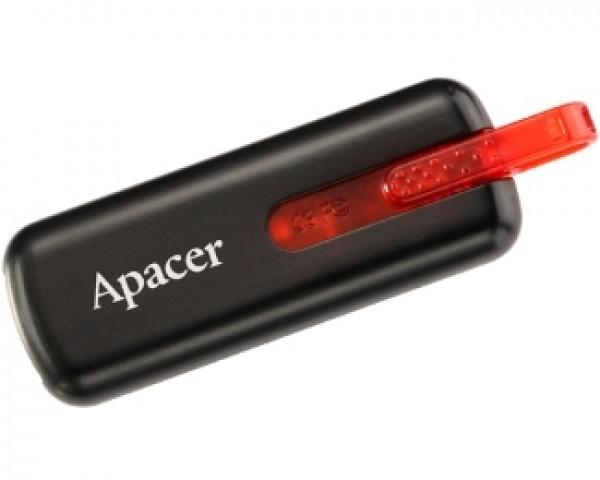 APACER 16GB AH326 USB 2.0 flash crni