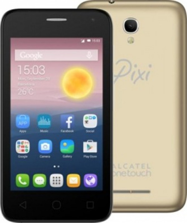 Alcatel Pixi first - 4024D Metal gold