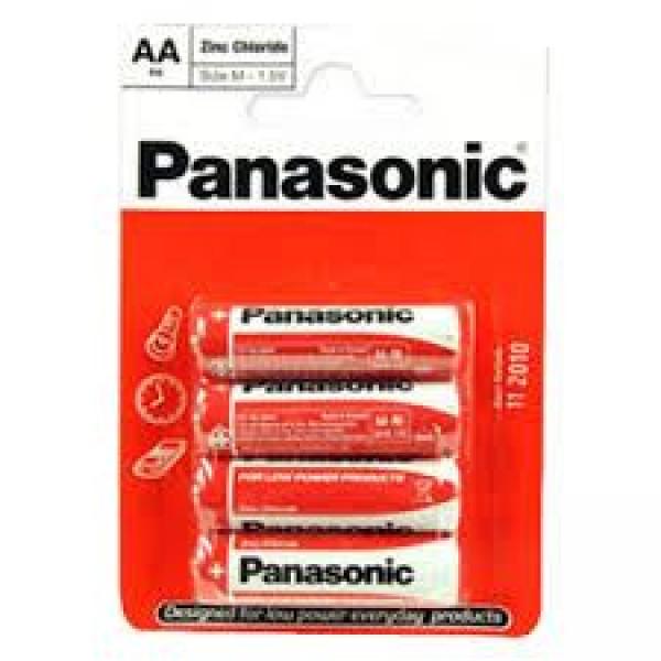 PANASONIC baterije R6RZ4BP - 4×AA EU Zinc Carbon