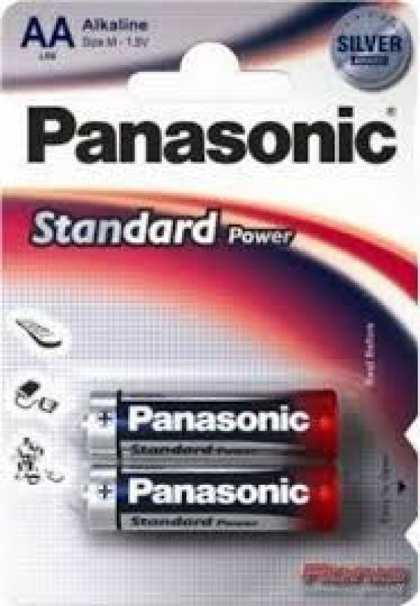 PANASONIC baterije LR6EPS2BP - AA 2kom Alkalne Everyday