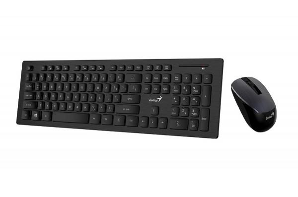 Genius Komplet tastatura i miš SlimStar 8008 ,BLACK,SER