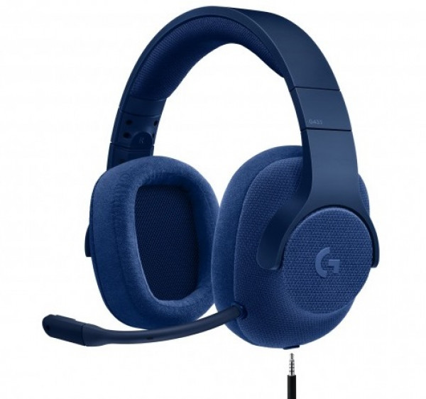 Logitech G433 Surround Sound Gaming Headset ROYAL BLUE-3.5MM