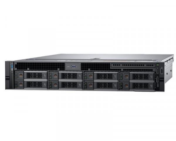 DELL PowerEdge R740 1xXeon Silver 4110 8C 2x8GB H330 2x200GB SSD 3x2TB SAS 750W (1+1) 3yr NBD + Sine za Rack + Broadcom 5720 QP 1GB
