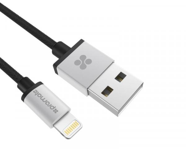 PROMATE linkMate-LTF Kabl za Iphone 1.2m sivi