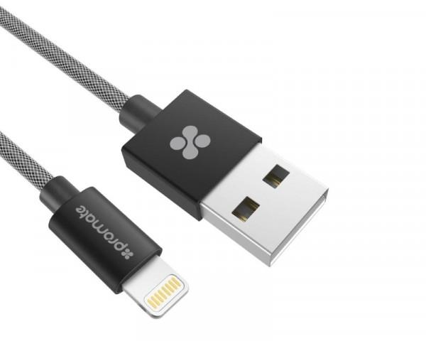 PROMATE linkMate-LTF2 USB Kabl za Iphone 2m crni