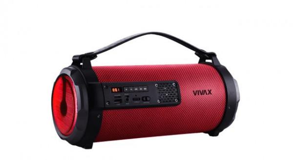 VIVAX VOX bluetooth zvučnik BS-101 crveni