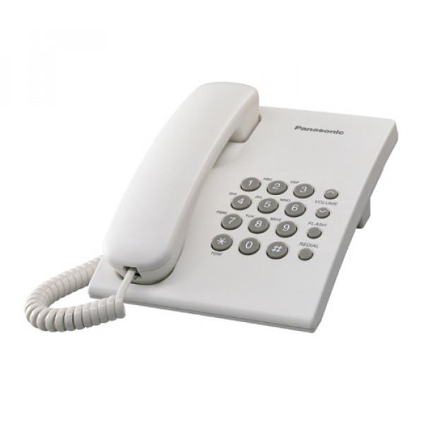 PANASONIC KX-TS500FXW Žični telefon, Bela