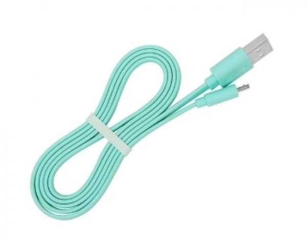 E-GREEN Kabl 2.0 USB A - USB Micro-B MM 1m zeleni