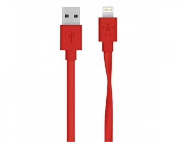 E-GREEN Kabl za iPhone 5,6,7 1m crveni
