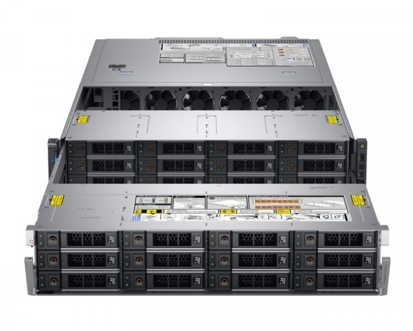 DELL PowerEdge R740XD 1x Xeon Sliver 4110 8C 1x16GB H730P 12x2TB NLSAS 1100W (1+1) 3yr NBD + Sine za Rack