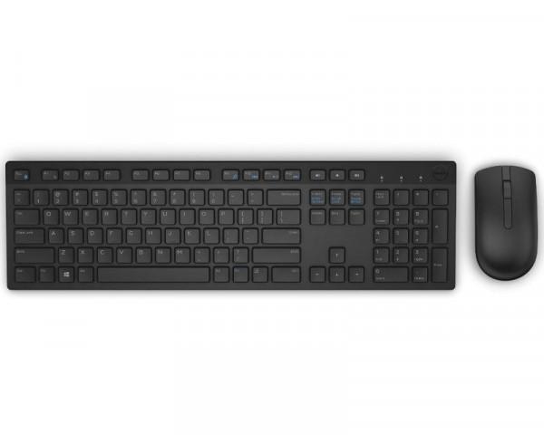 DELL KM636 Wireless US tastatura + miš crna