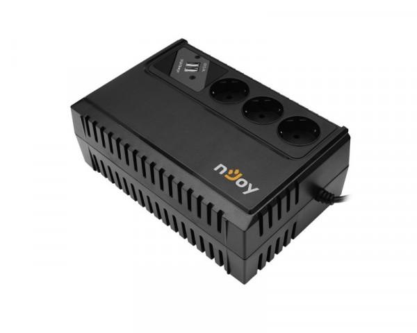 NJOY Renton 650VA 360W UPS (UPLI-LI065RE-CG01B)