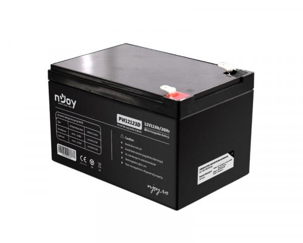 NJOY PW12123D baterija za UPS 12V 12Ah (BTVA-12123PW-CN01B)