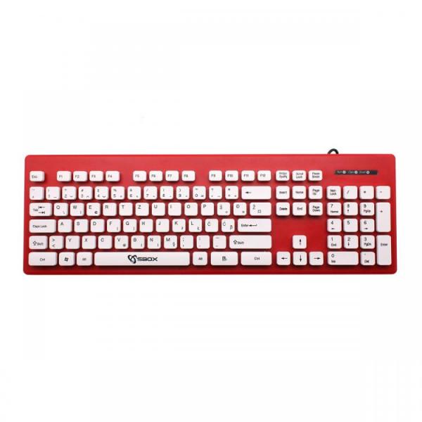 S BOX K 16 R  Tastatura USB  105 tastera