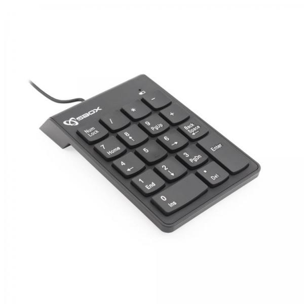 S BOX NK 106  Tastatura  NumeriCka