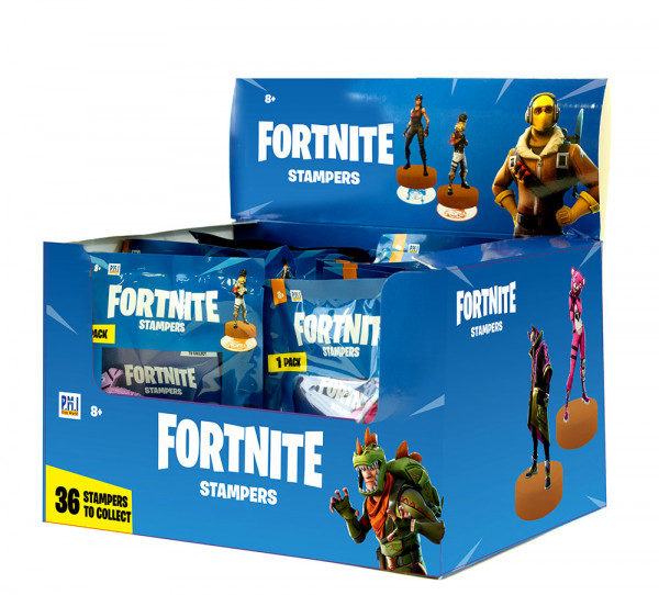 Fortnite figura-žig 1pk Ass.