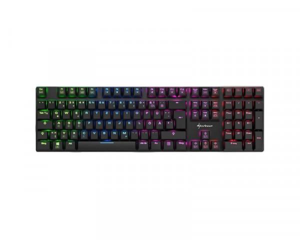 SHARKOON PureWriter RGB US tastatura red switch