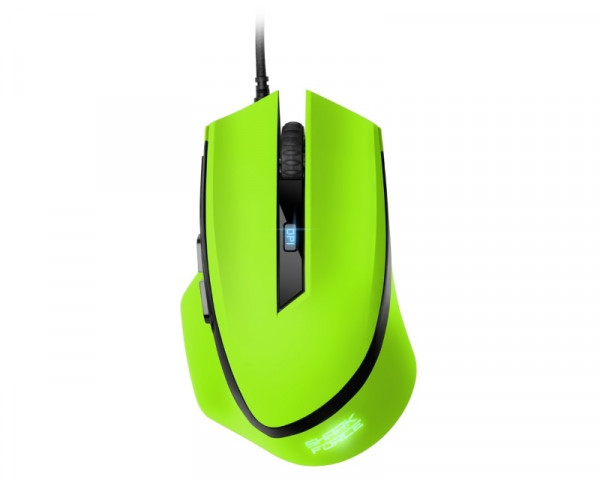 SHARKOON SHARK Force USB Optical zeleni miš