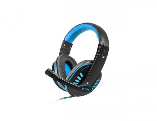Slušalice sa mikrofonom Fury Nighthawk NFU-0864, plava