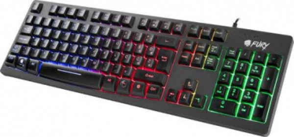 Tastatura USB YU Fury Hellfire, backlight