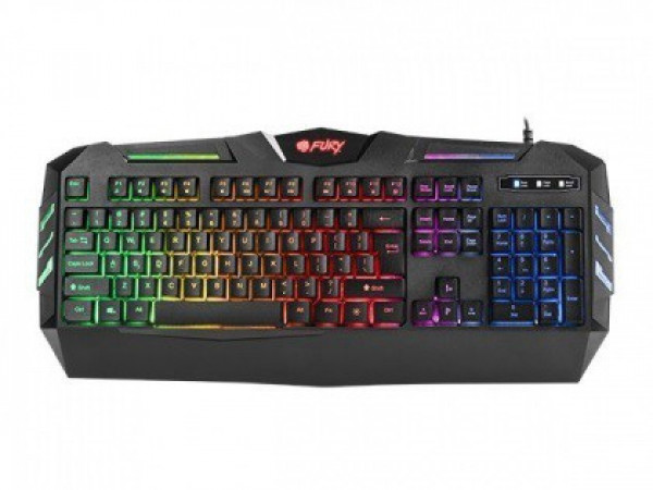 Tastatura USB YU Fury Spitfire Backlight NFU-1102, gaming