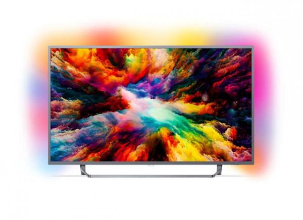 PHILIPS TV 55PUS730312,  4K Google  Android, Ambilight
