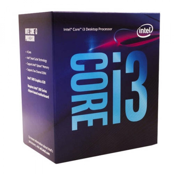 INTEL Core i3-9100F 4-Core 3.6GHz Box
