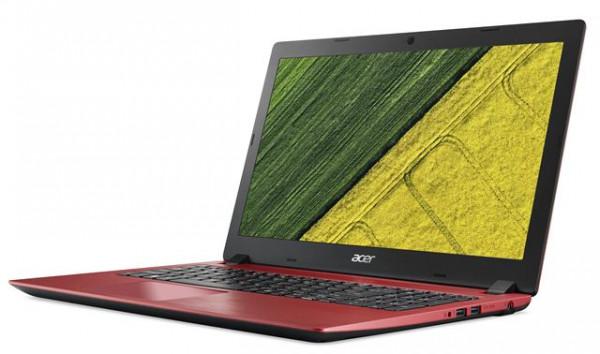 Notebook Acer A315-53-C3BZ Celeron 3867U4GB128GBRed
