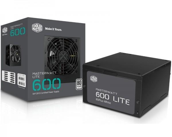 COOLER MASTER MasterWatt Lite 600W napajanje (MPX-6001-ACABW-EU) 3Y