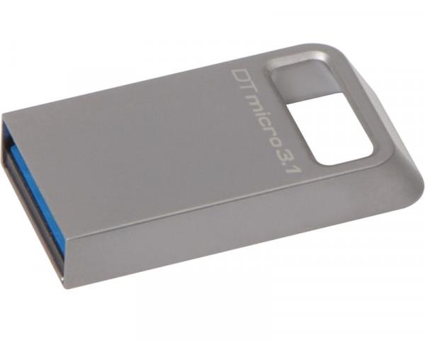 KINGSTON 64GB DataTraveler Micro USB 3.1 flash DTMC364GB srebrni