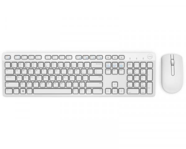 DELL KM636 Wireless US tastatura + miš bela
