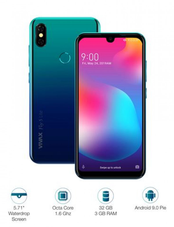 VIVAX SMART Fly5 Lite Polar Blue telefon