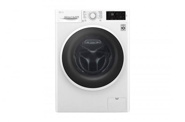 LG Mašina za pranje i sušenje veša F2J6HM0W B, 1200 obrmin, 7 kg, 4 kg