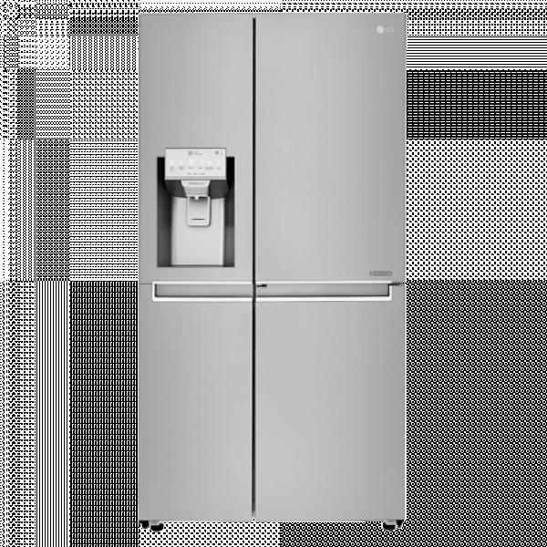 LG Side by side frižider GSJ960NSBZ No Frost, A++, 405 l, 196 l