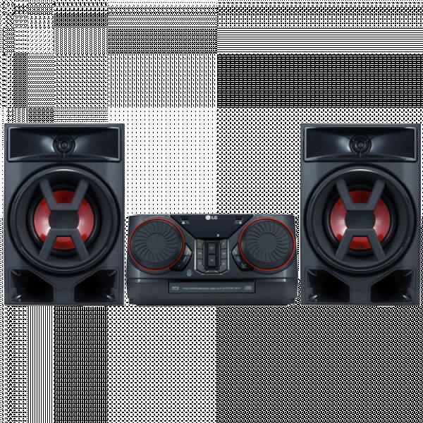 LG CK43 Mikro linija, 300W, FM, Crna