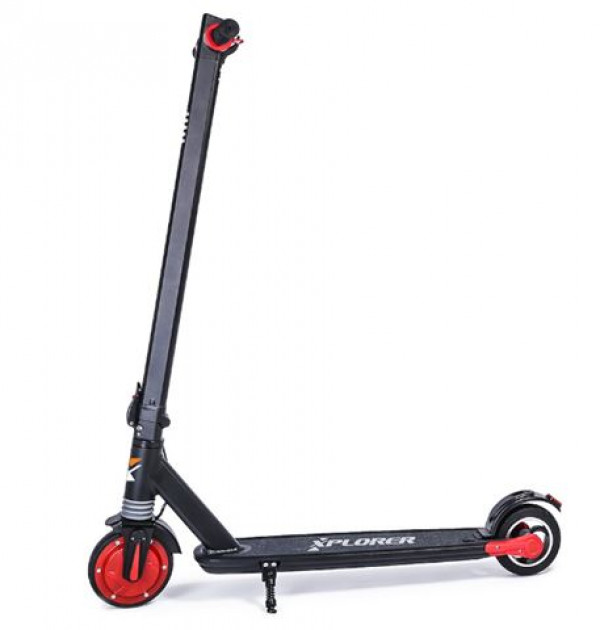 Xplorer e-scooter green city  6,5'' - black