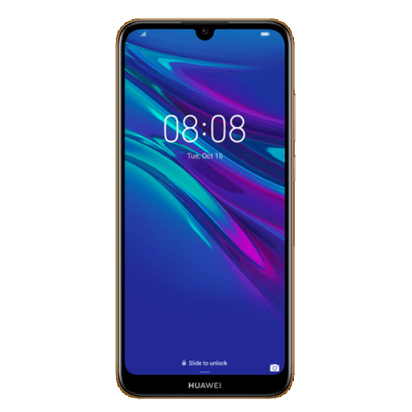 HUAWEI Y6 (2019) 322GB DS (Braon - Amber Brown) - 139067, 6.09'', Quad Core, 2 GB, 13.0 Mpix