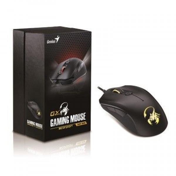 Genius Scorpion M6-600 optički gejmerski miš 5000dpi crni
