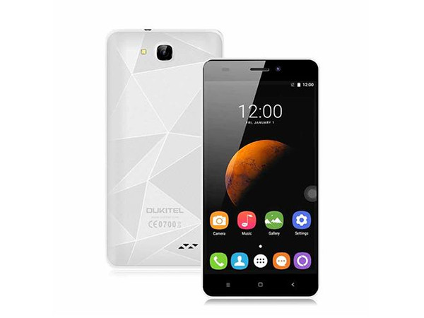 Smart phone/MTK6580 Quad-core 1.3Ghz/ 5''HD/8GB ROM/1GB RAM/8MP+2MP/2000mAh/DualSIM/Android 6.0/white ( 82538 )