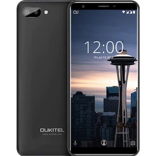 Smart phone3G/MTK6580A/Quad 1.3GHz/5.5'' HD/8GB/1GB/Dual 5MP+2MP/2MP/3400mAh/Fingerprint/Android8.1 ( 94433 )