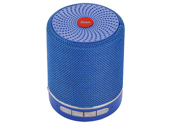 Xwave BT zvučnik B SUPER v4.2,5W, FM Radio, Micro SD, USB, AUX, Plavi 024503