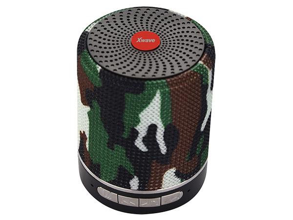 Xwave BT zvučnik B SUPER v4.2, 5W, FM Radio, Micro SD, USB, AUX, Maskirni 024504