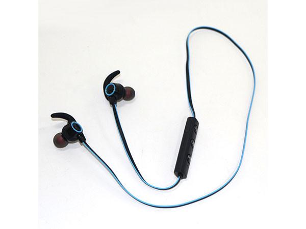 BT stereo slusalice sa mikrofonom v4.2, Baterija 80mAh, 5sati razgovor, 10m udaljenost, Plava ( 84027 )