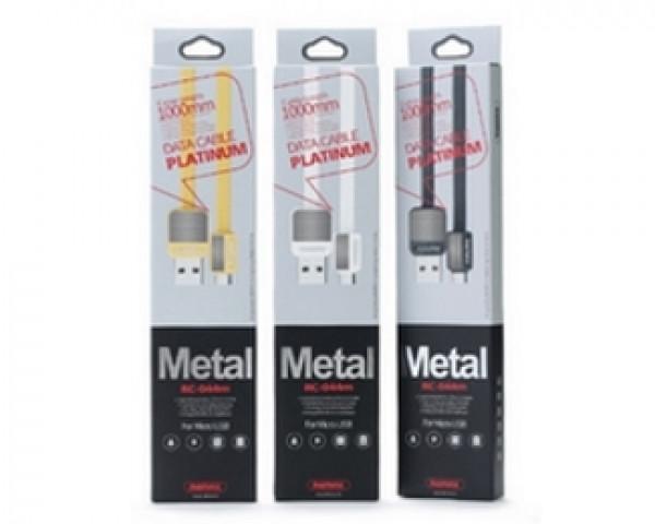 REMAX RC-044m gold 1m micro-USB Platinum Data kabl