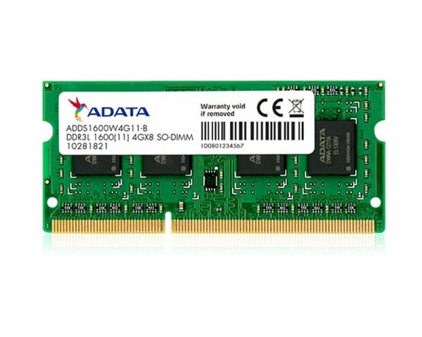 A-DATA SODIMM DDR3 4GB 1600MHz ADDS1600W4G11-S