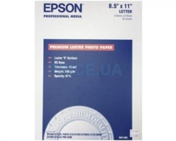 EPSON S041785 A3+ (100 listova) Premium luster foto papir