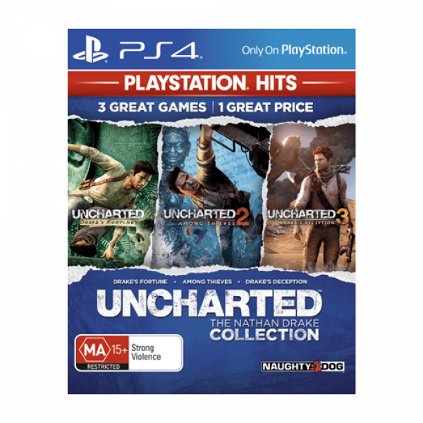 PS4 Uncharted: The Nathan Drake Collection - Playstation Hits Akciona avantura