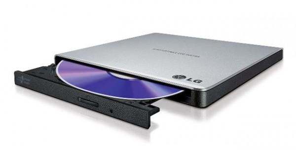DVD RW  EXT HitachiLG GP57ES40 USB Slim Silver