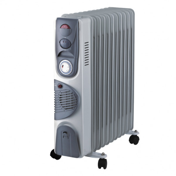 PROSTO uljni radijator 11 rebara sa ventilatorom UR-B22FT-11A